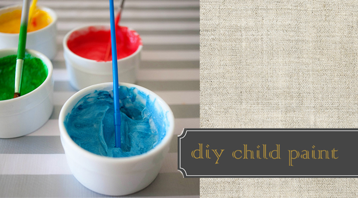 Rare & Beautiful Treasures DIY Child Paint Recipe