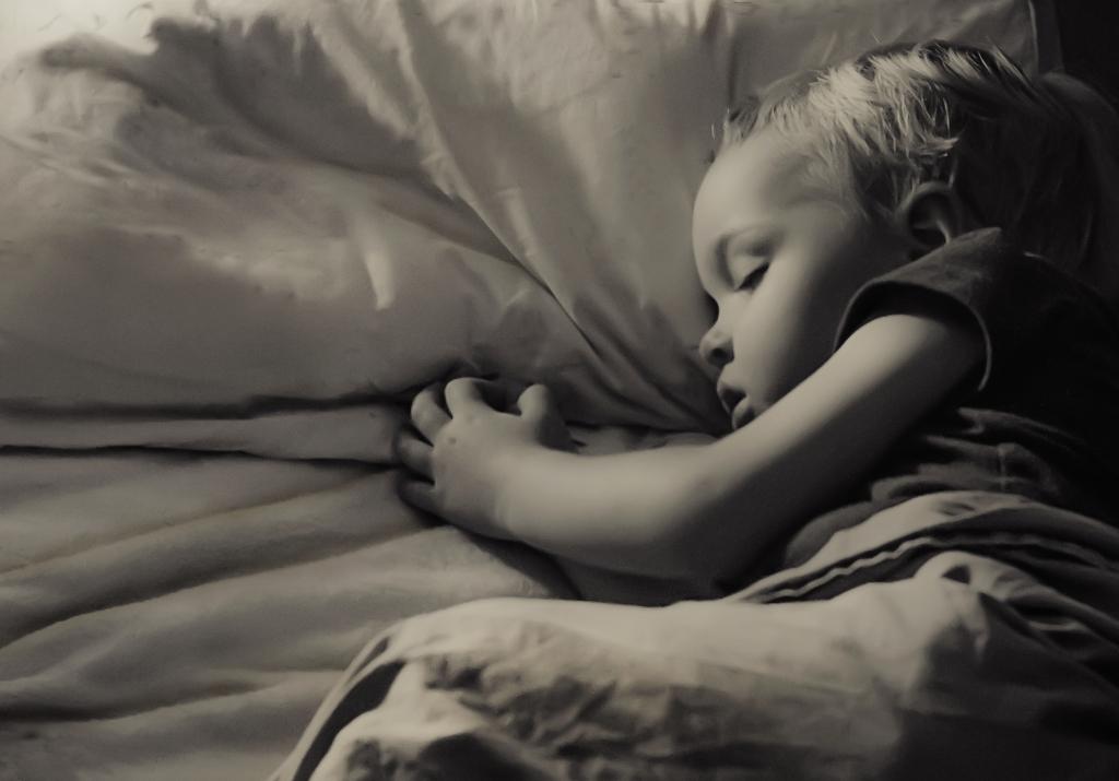 sleeping james..